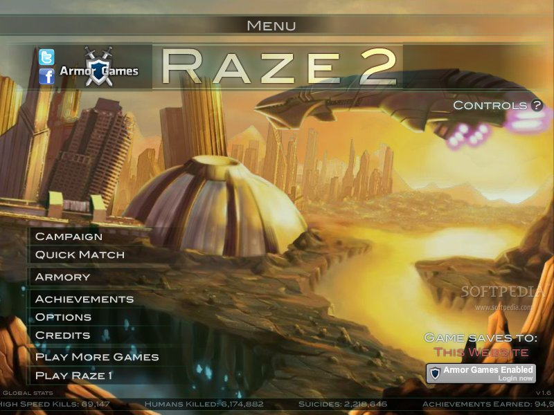 Raze 2 – The Most Played Computer Game